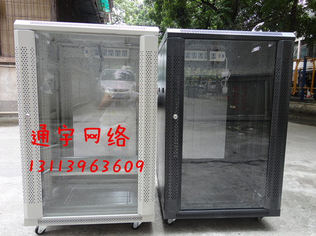Special offer luxury cabinet width 1 m 18 u 1000 high 1000 feet (600 meters) deep 19 inch rack Black and white optional