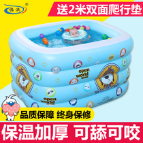 Inflatable Inflatable Baby Swimming Pool Infant Children Baby Swimming Pool Domestic Infant Large Green Swimming Pool