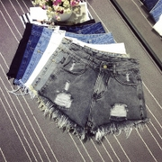 - Il buco in Estate pantaloncini di Jeans Larghi e donna Marea Burr mm200 kg di Grasso Grasso Libero XL Una parola Hot Pants