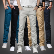 In the spring of 2017 new men's pants men's casual pants men straight pants pants men's summer all-match.