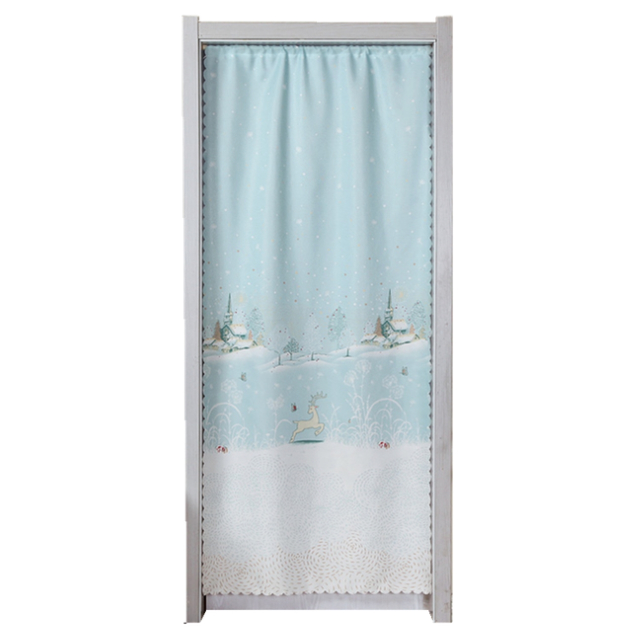 Curtain curtain curtain Feng Shui bedroom living room kitchen curtain cloth curtain half Japanese single curtain curtain partition changmen