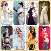 2016 new photo studio pregnant women take pictures of the theme of maternity dress photography maternity dress photo maternity dress