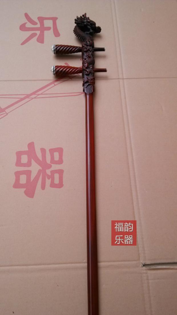 /erhu Home Direct music. Factory pole/High twist shaft hu/More red Rosewood head piano pole.