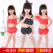 New children's swimsuit, girls conjoined cute princess skirt, baby small, medium child swimsuit, girls swimming suit