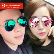 2017 new Sunglasses Polarized Sunglasses could face tide South Korea star sun glasses myopia