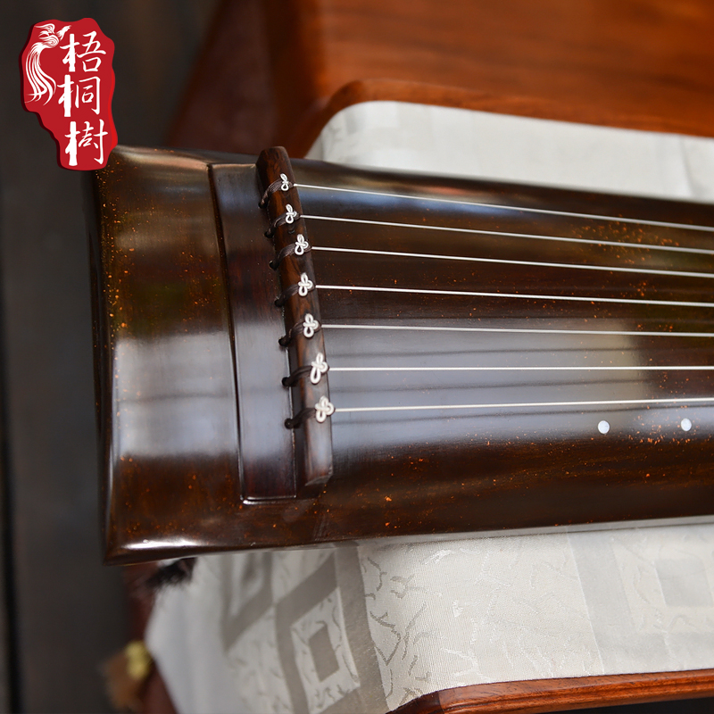 True Park College orientation and promotion of fine old Chinese fir is the guqin seven stringed instruments