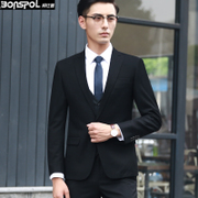 Young men's suit in the spring suit jacket men's British single Western jacket Korean business casual small business suit men