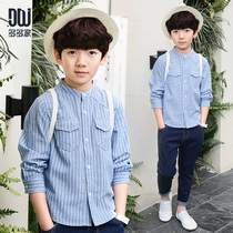 More kids boys long sleeve shirt spring 2017 in new childrens striped shirts shirts surge 2315