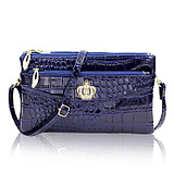 Women's Messenger Bag Crocodile Pattern Women's Bag Europe and the United States fashion ladies shoulder bag casual women's hand bag small square bag