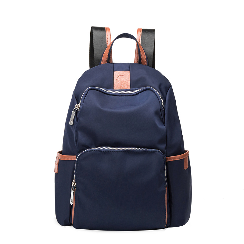 Backpack female middle-aged lady mother fashion joker Oxford protection water leisure travel middle-aged and old bag