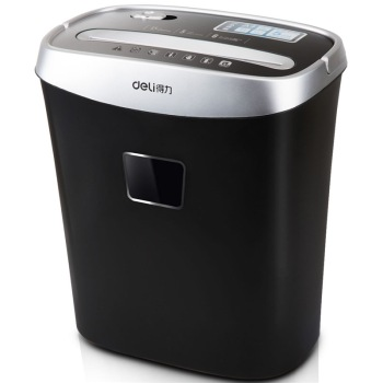 Deli/ effective 33103 personal office shredder small household mute shredder