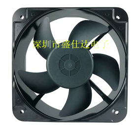 Shinestar 20CM 20060 12V 24V 48V ball type case large volume industrial cooling fan