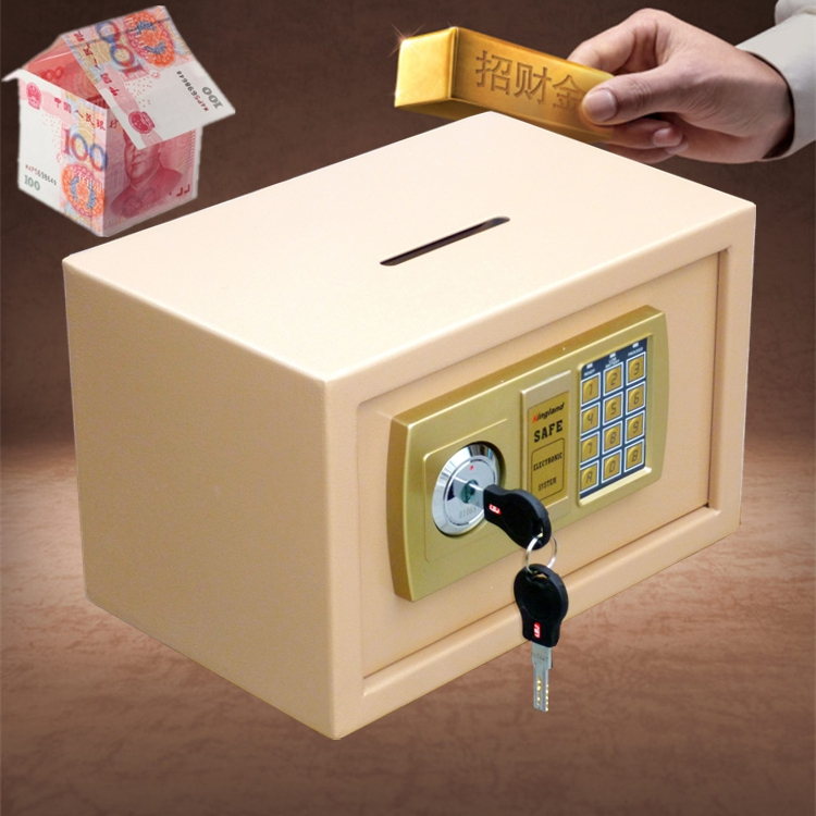 Mini password store cashier coin box safe deposit box box piggy bank special offer
