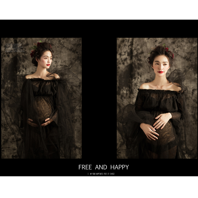 2015 studio maternity photos photography garments according to pregnant women, xinmi shoot photography photo suit