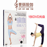yoga basic video tutorial primary teaching introductory yoga course materials thin disc DVD discs genuine