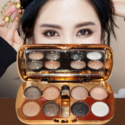 The color palette Eyeshadow matte red shiny makeup nude make-up authentic Korean bare monochrome toner