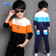 5 Childrens Boys set 6 spring 2017 New 7 children 9 age 10 11-12 years old boy clothes