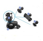 Wholesale tachograph bracket rearview mirror bracket buckle type T type single screw general suction cup bracket