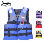 The desert fox professional children's adult lifejacket portable thickening help swimsuit swimsuit drifting fishing clothes