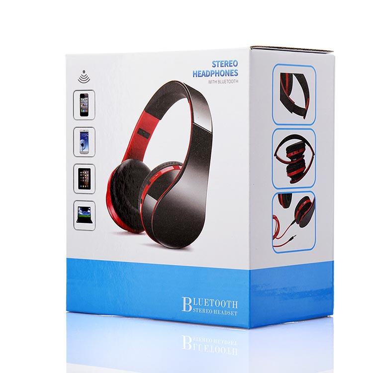 Shipping headset Bluetooth headset bass folding sports fashion mobile phone universal creative headset headset