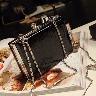 New new Korean version of retro small chain of fresh Candy-colored evening bag with wallet balenciaga motorcycle bag