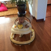 Special 包邮 Best 6 / 7-18 month anti-rollover baby baby children slide the walker can be folded