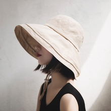 Japanese cover the face of the summer dayan fisherman hat ladies chic Korean version of the summer sun shading art sunblock cap