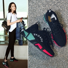ins super fire shoes 2018 new spring sports shoes female Korean ulzzang Harajuku wild shoes