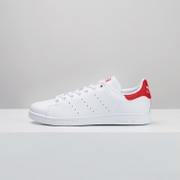 Adidas chaussures chaussures trèfle Stan Smith à queue rouge blanc de chaussures M20326 BB5160 Smith