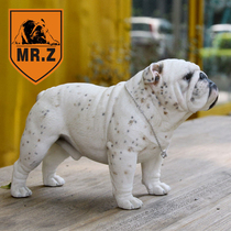 MR. Z-model] spot MR. Z 1:4 British Bulldog Model desktop Car Jewelry Ornaments