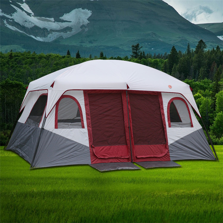 ... lightbox moreview ... & USD 395.67] New two rooms one Hall tent outdoor camping 6 person 8 ...