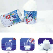 Instant Snow Man-Made Magic Artificial Snow Powder Decorat