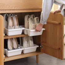 Lazy corner of the simple household economy 3 shoes bit Shoe rack plastic Japanese shoes minimalist Shoe Cabinet storage box 60396