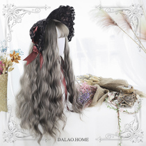 )Gangster home) Sen Department of soft sister LolitaLisa Parker Alina Sabrina70cm waterlines volume wig
