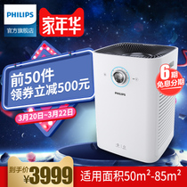 Philips air purifier AC6608 home bedroom office mute in addition to formaldehyde haze germs PM2 5