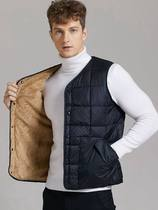 Jumei mei other other mens thin down vest ultra-light down horse clamp male thin wet wear feather.
