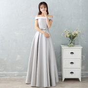 Our sisters dress dress sling female long new Bridesmaid Wedding dinner will be customized to increase