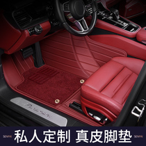 21 Porsche new Cayenne coupe Palamera taycan leather special 718 fully surrounded car floor mats