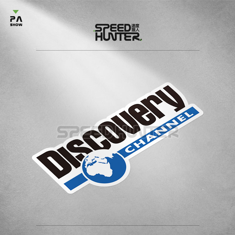 Discovery channel a audio-visual off-road vehicle sticker waterproof reflective Decal