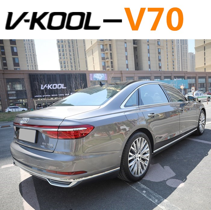 Changsha brick-and-mortar V70 film all-car metal high insulation explosion-proof film privacy security film