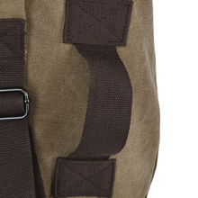 New men's leisure bag shoulder bag tide Korean college wind Canvas Backpack Travel Bag