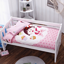 Nursery quilt three piece set Spring Summer cotton-containing core child NAP in a small bed product baby kit bedding six piece set