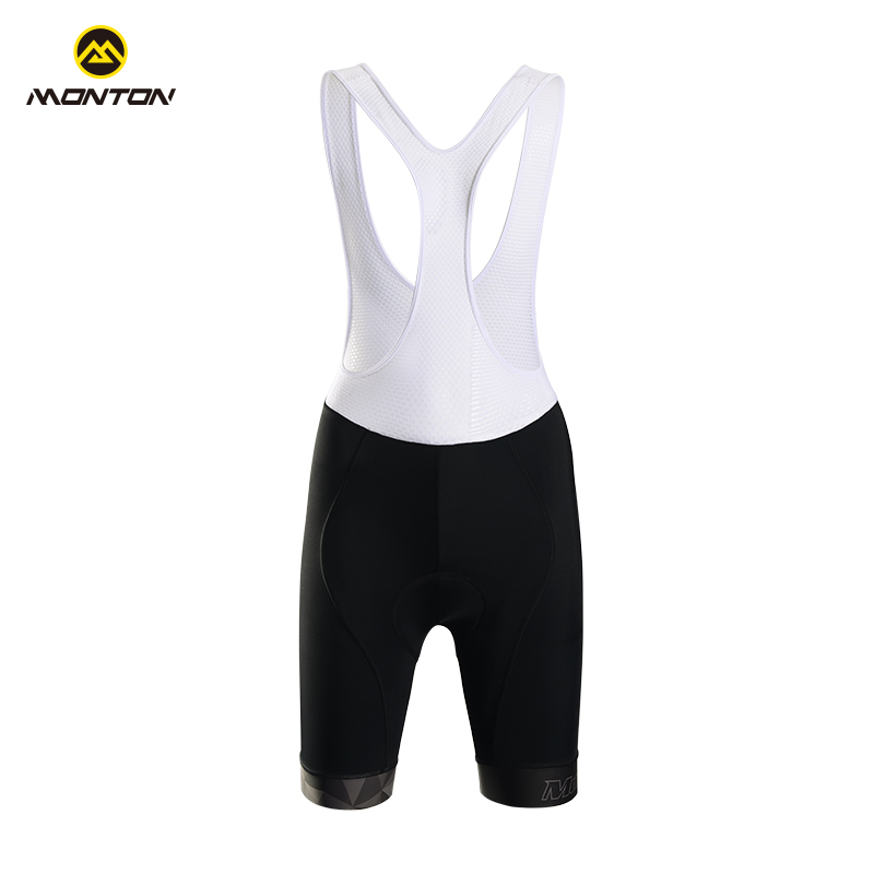 Monton Maitenerchi cycling suit with shorts on the back and punch pads on the seams of female mountain bike shorts