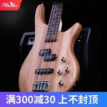 A first-time introduction to electric bass bass four-string bass guitar instrument
