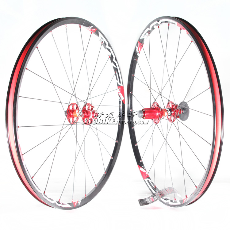 XXF DX-SEVEN light ultra light hollow 26 inch mountain bike disc brake wheel set Taiwan native
