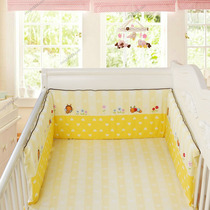 Excellent companion baby bedding All-in-one bed circumference can be disassembly and washing baby cotton anti-collision breathable live gall draperies