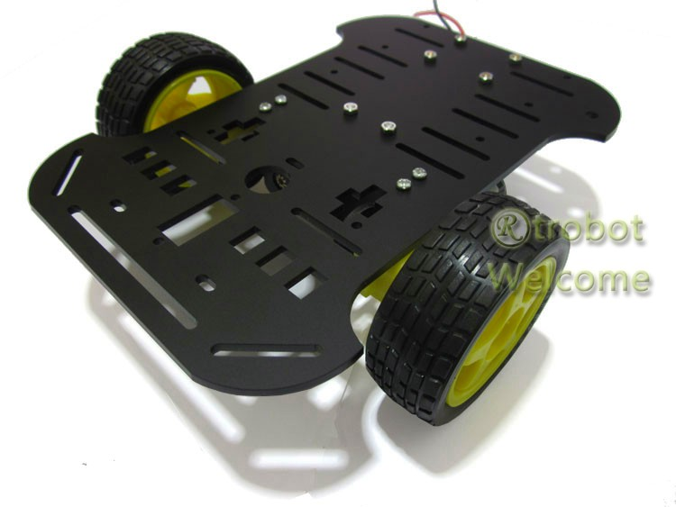Smart Car Intelligent Car Chassis Tracking Obstacle Avoidance Speed arduino Send Info RT-1