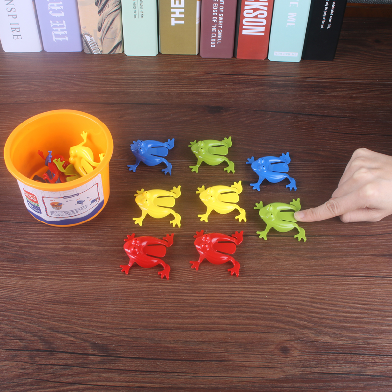Frog Jump Animal Toy Kindergarten Baby Parent-Child Interactive Intelligence Tabletop Game Exercise Hand-eye Coordination