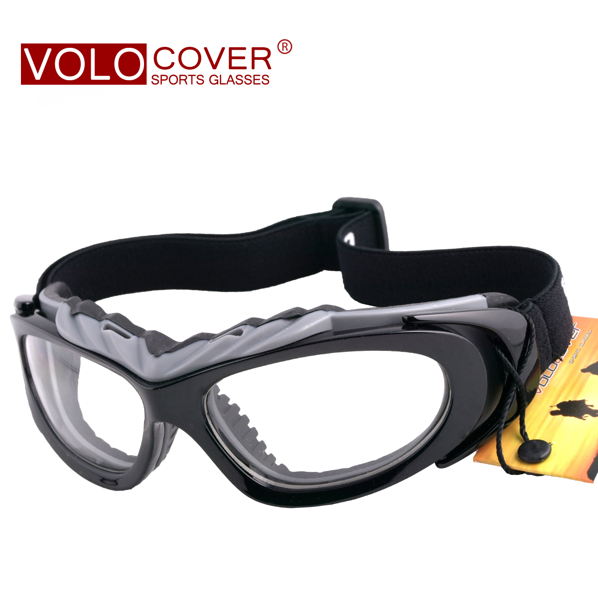 VOLO Outdoor Protective Mirror Riding Mirror Windbreak Mirror Motorcycle Mirror Sporting Glasses with Polarized Myopia Frame