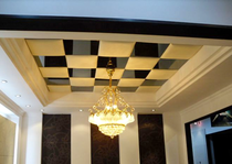 Fashion ceiling soft bag background wall soft package ceiling fabric mirror Color optional Manufacturers professional custom-made